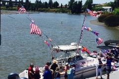 FlagboatonDock